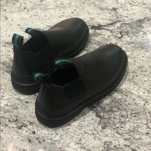 Black Georgia Boots like new